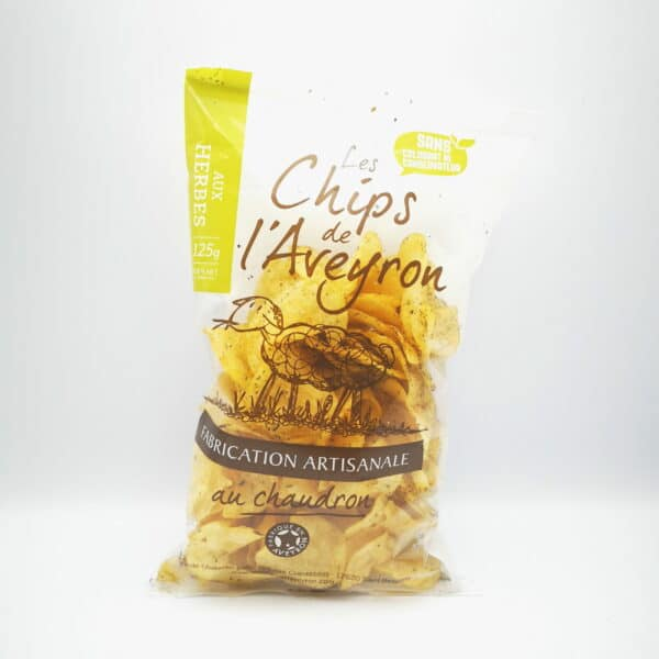 CHIPS ARTISANALES AUX HERBES
