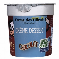4 Crèmes dessert chocolat