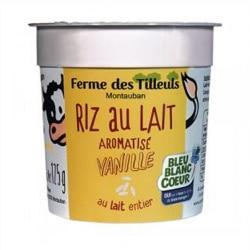 4 Riz au lait vanille
