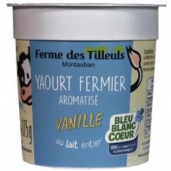 4 yaourts vanille