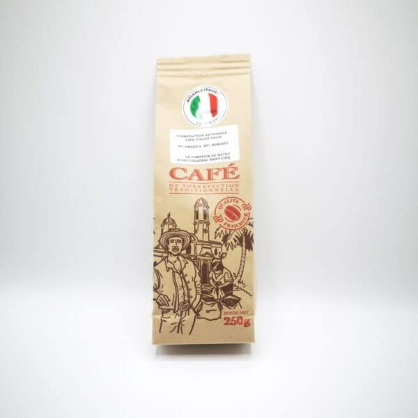 CAFÉ MÉLANGE ITALIEN ARTISANAL EN GRAIN