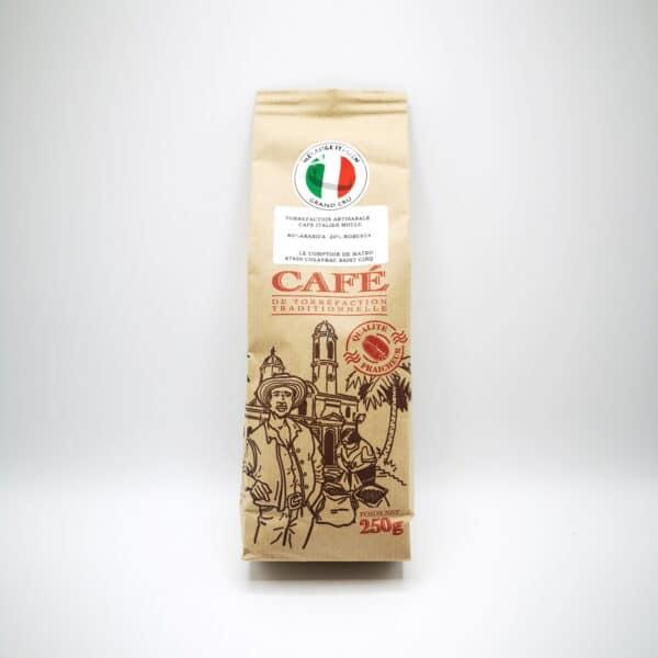 CAFÉ MÉLANGE ITALIEN ARTISANAL MOULU