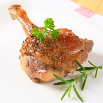 1 cuisse de canard confite