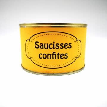 SAUCISSE CONFITE 400 GR