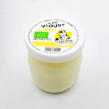 4 yaourts citron bio