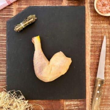 2 cuisses de poulet Le Maraudeur
