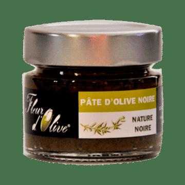 Pâte d'olive Nature Noire