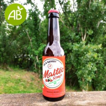 3 bières aux fruits rouges bio