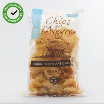 chips ondulées